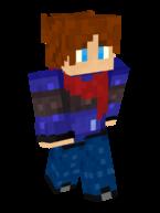 The Minecraft skin of Falvyu